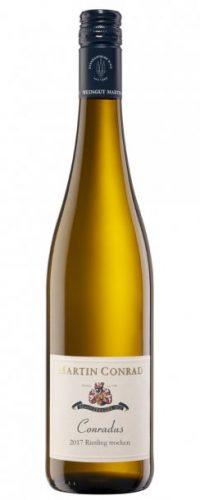 Conradus Riesling Trocken 2017 vinværket vinanmeldelser jennifer delaloca sommer guides 2020